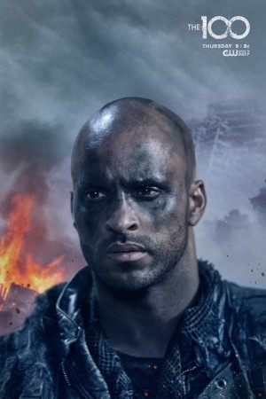 RIcky Whittle plays Lincoln in 'The 100'