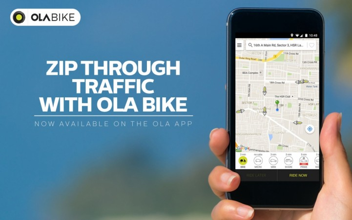 Uber launches bike taxi service uberMOTO in Bangalore