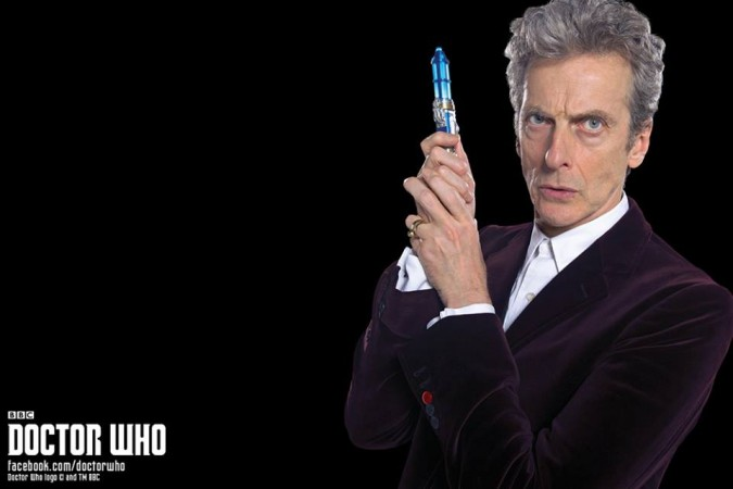 Peter Capaldi as the Twelfth Doctor