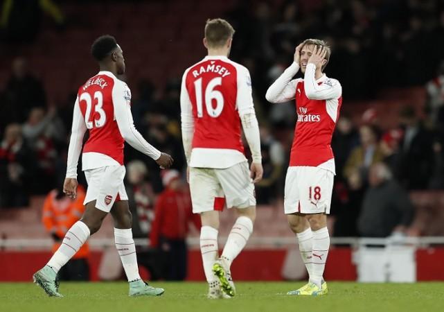 Welbeck Ramsey Monreal Arsenal
