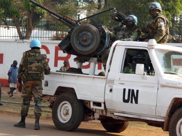 UN peacekeepers in CAR
