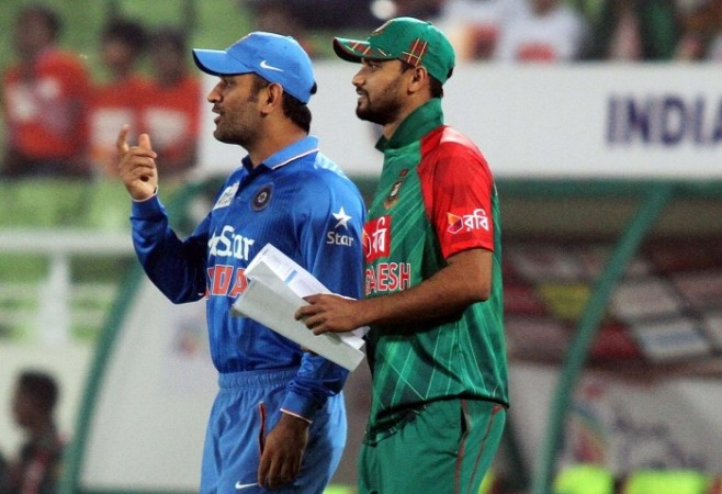 MS Dhoni India Mashrafe Mortaza Bangladesh Asia Cup 2016