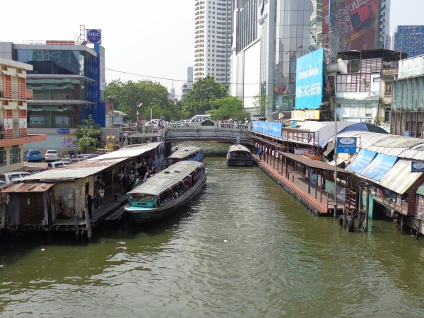 ferry in bangkok