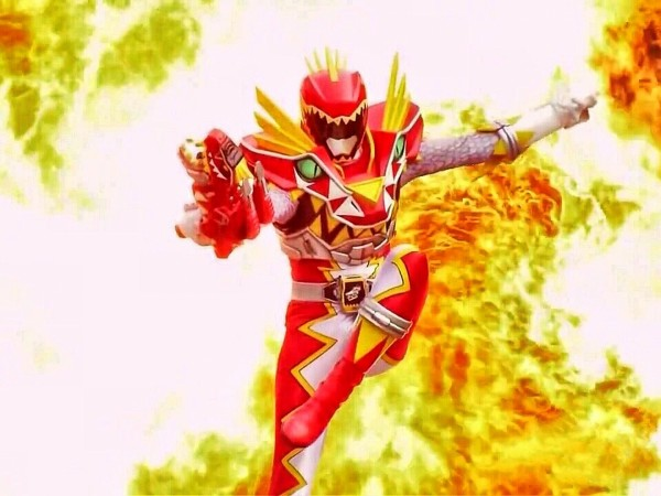 Red Ranger in Power Rangers Dino Super Charge