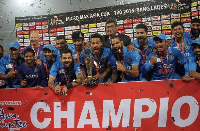 Asia Cup 2016 trophy India