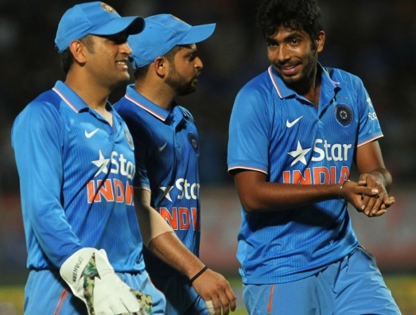 MS Dhoni Suresh Raina Jasprit Bumrah India Asia Cup 2016