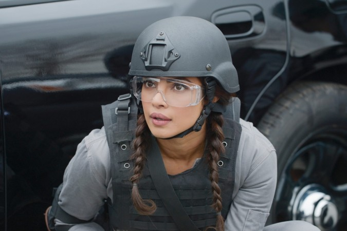"Priyanka Chopra as Alex Parish in ""Quantico"""