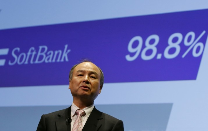 Softbank plans for current year include splitting domestic and overseas operations