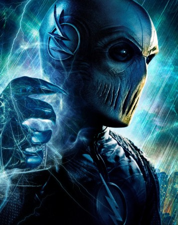 """Zoom removed his mask and revealed his identity in Season 2 Episode 15 """"King Shark"""""""