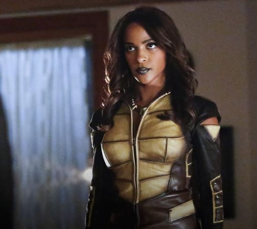 Vixen appeared on Arrow making her live action debut