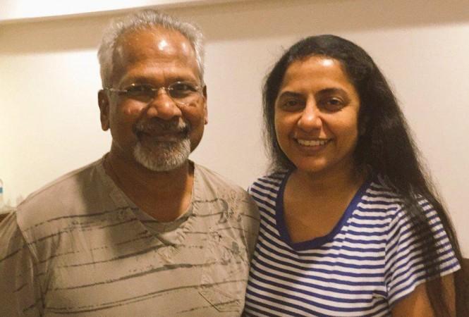 Suhasini with her husband Mani Ratnam