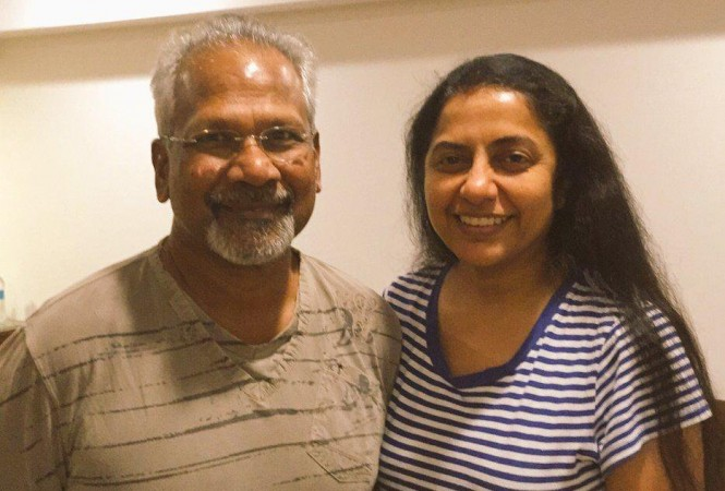 Suhasini with her husband Mani Ratnam