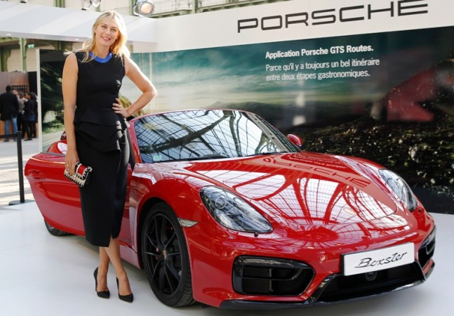 Maria Sharapova as brand ambassador of Porsche