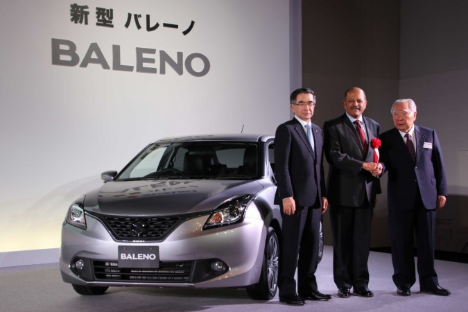 Suzuki launches 'Made in India' Baleno in Japan