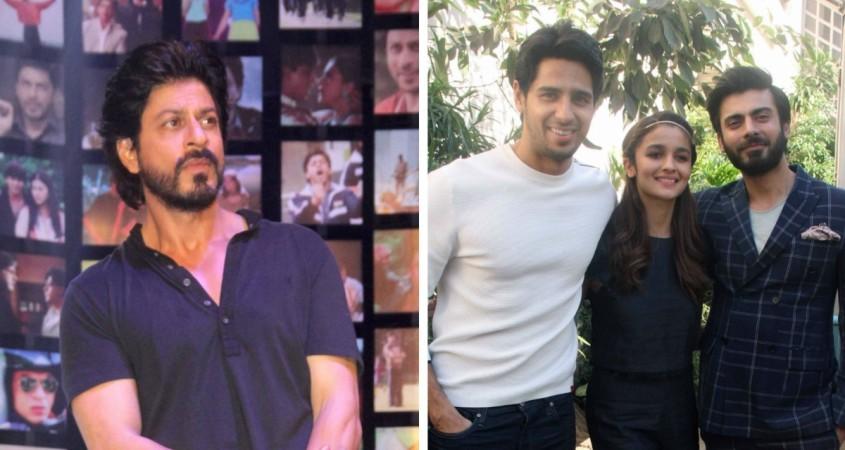 Shah Rukh Khan meets Alia Bhatt, Sidharth Malhotra, Fawad Khan