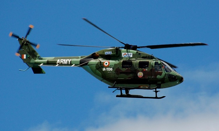 HAL Dhruv of the Indian Army