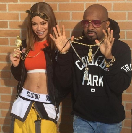Miss Mulatto and Jermaine Dupri