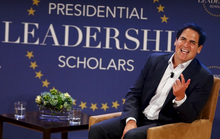 "During a conversation about his ""frenimy"" Donald Trump, businessman Mark Cuban said that he is being repeatedly approached about running for president"
