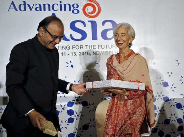 Christine Lagarde India