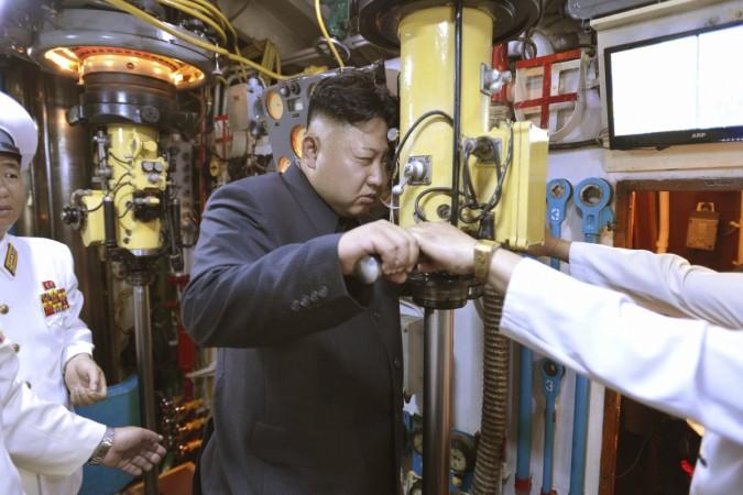 North korea submarine