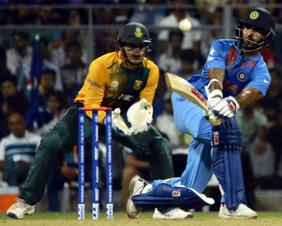 Quinton de Kock Shikhar Dhawan India South Africa ICC World T20 2016