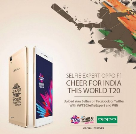 ICC T20 World 2016: Oppo launches Cricket World Cup limited edition F1 smartphone in India