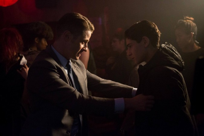 """Bruce and Jim from """"Gotham"""""""