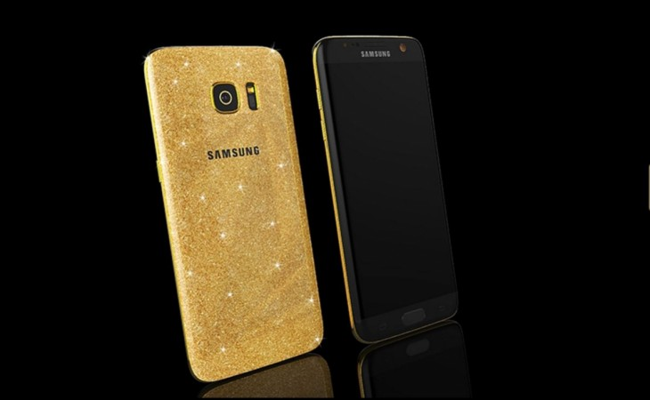 Limited edition 24 karat Gold encased Samsung Galaxy S7 series goes on sale