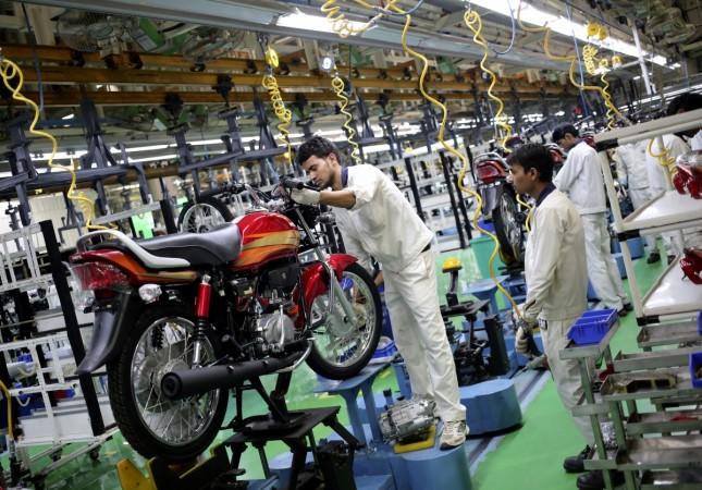 Hero Motocorp motorcycles two wheelers motorbikes sales production factory Neemrana automobiles auto market india agreement with honda munjal punjab gurgaon