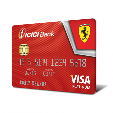 ICICI Bank to offer Ferrari range of credit cards