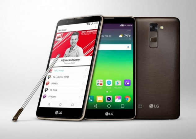LG unveils new Stylus 2, world's first smartphone with DAB  radio