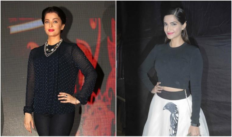 Aishwarya Rai Bachchan, Sonam Kapoor
