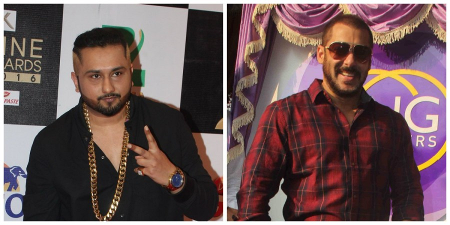 Honey Singh and Salman Khan