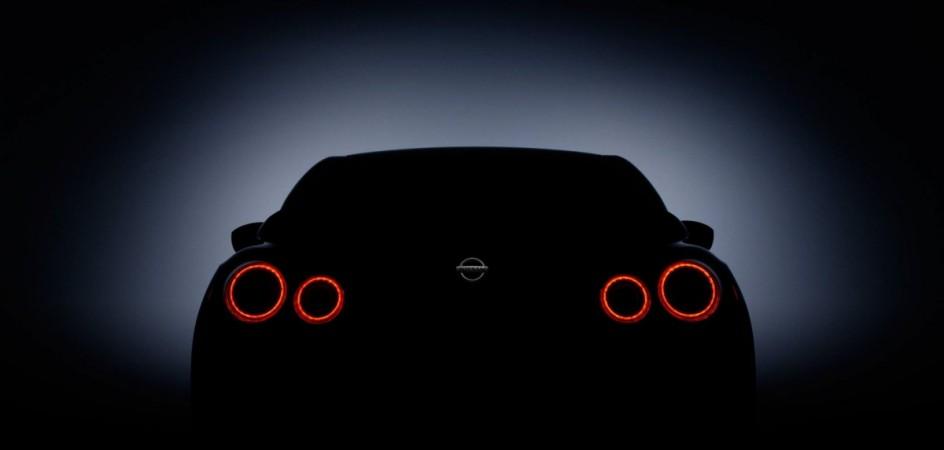 2017 Nissan GT-R teaser