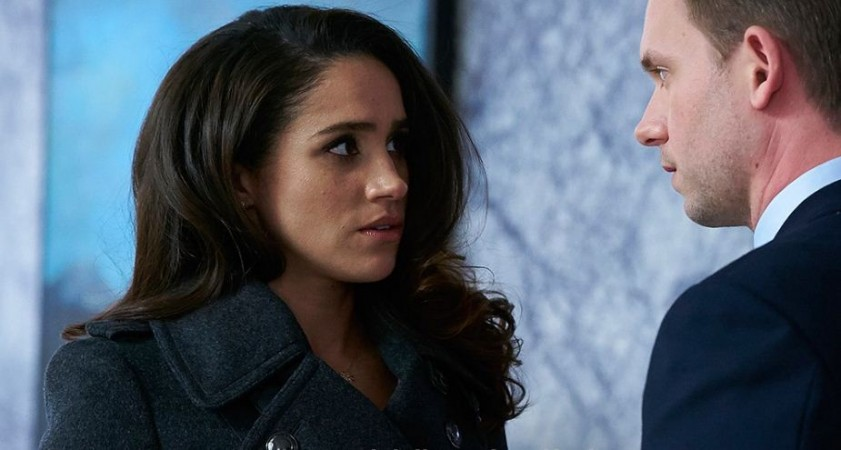 """Rachel and Mike from """"Suits"""""""
