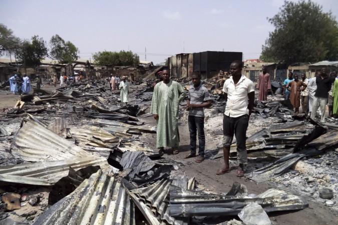 suicide attack on Maiduguri mosque