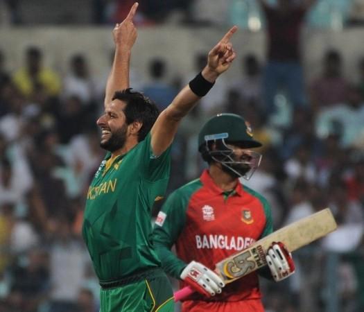 Shahid Afridi Pakistan Tamim Iqbal Bangladesh World T20 2016