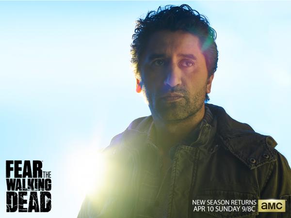 Cliff Curtis as Travis Manawa in 'Fear the Walking Dead'