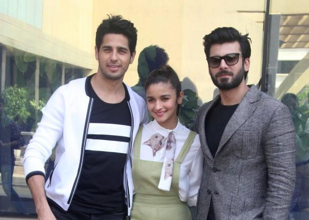 Alia Bhatt, Sidharth Malhotra and Fawad Khan