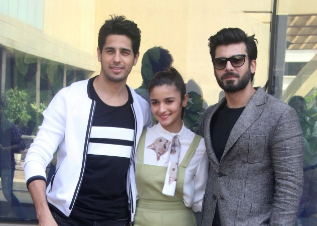 Alia Bhatt, Sidharth Malhotra and Fawad Khan