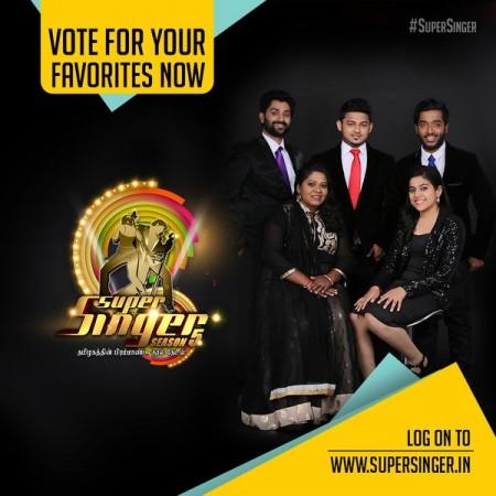'Super Singer 5' Finalists