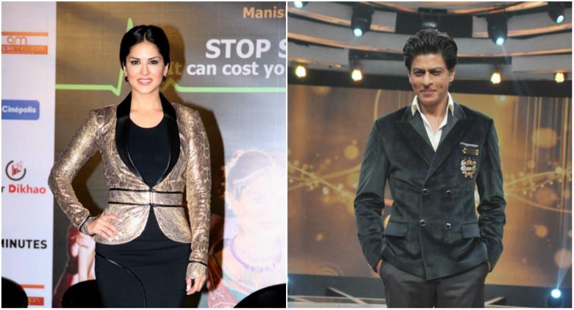 Sunny Leone, Shah Rukh Khan