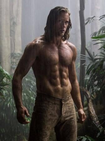 Alexander Skarsgård as Tarzan in 'The Legend of Tarzan'