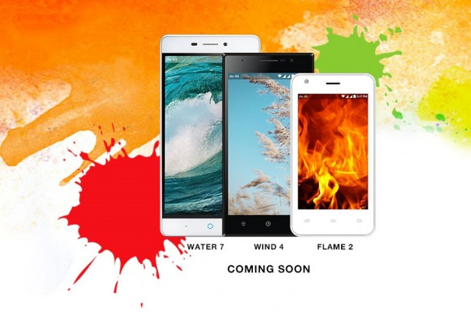 Reliance LYF Water 7, Wind 4 and Flame 2 prices and specifications go official