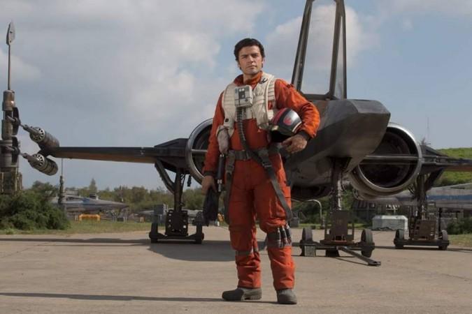 Oscar Isaac as Poe Dameron in 'Star Wars: The Force Awakens'