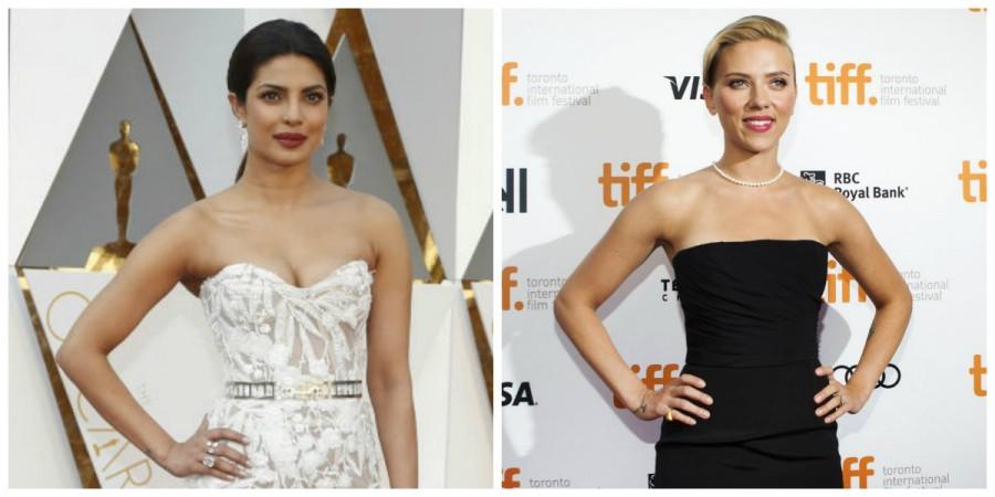 Priyanka Chopra and Scarlett Johansson