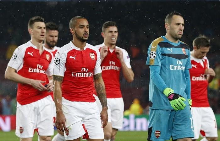 Arsenal Walcott Ospina
