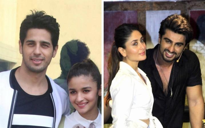 Sidharth Malhotra, Alia Bhatt, Kareena Kapoor Khan and Arjun Kapoor
