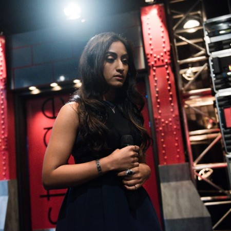 Moushumi during her blind audition