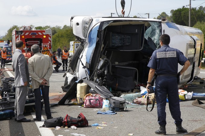 Spain road accident